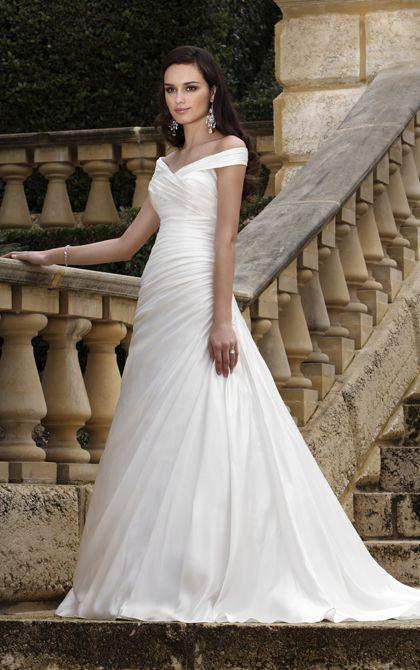 Wedding dress by Essence of Australia.