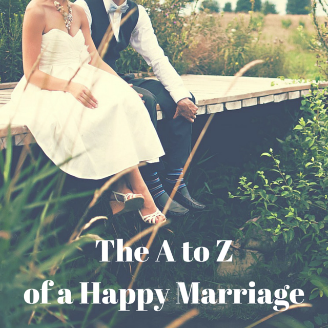 The A to Z of a Happy Marriage