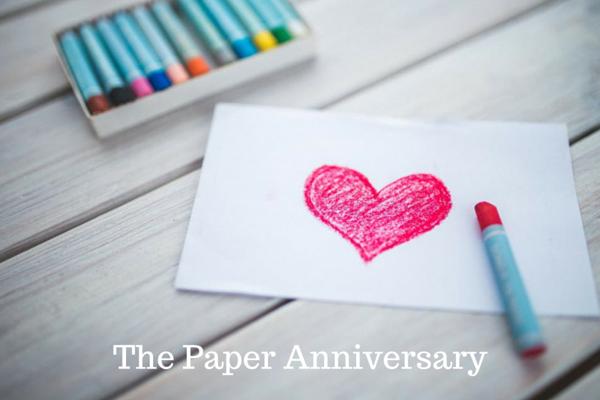 The Paper Anniversary