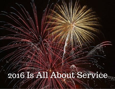 2016 Is All About Service