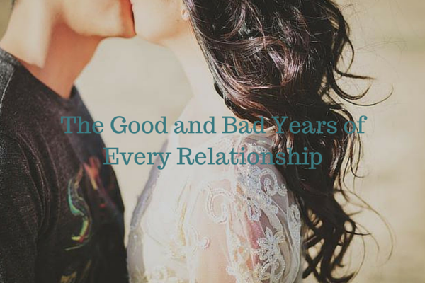 The Good and Bad Years of Every Relationship - Just Murrayed