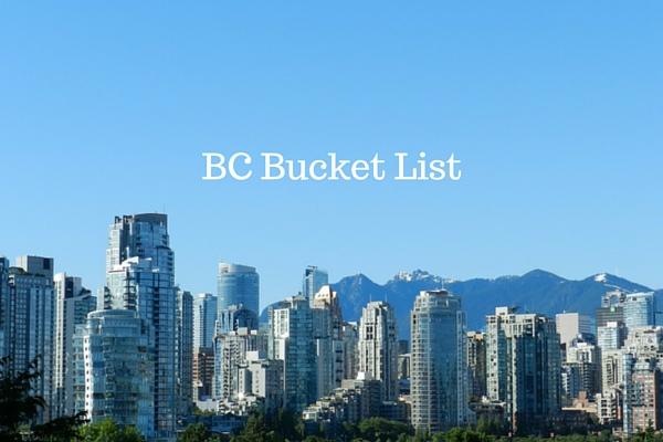BC Bucket List - Just Murrayed