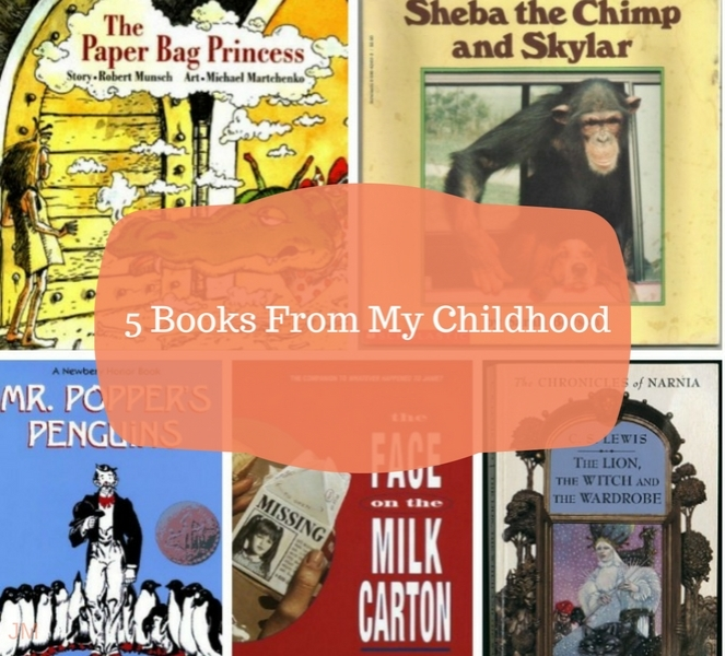 5 books from my childhood - Just Murrayed