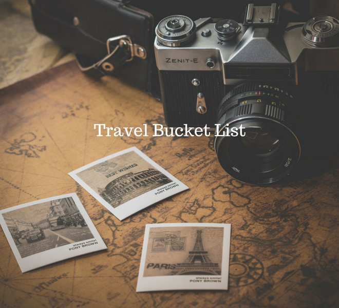 Travel Bucket List - Just Murrayed